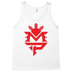 manny pacquiao red mp logo boxer sports Tank Top | Artistshot