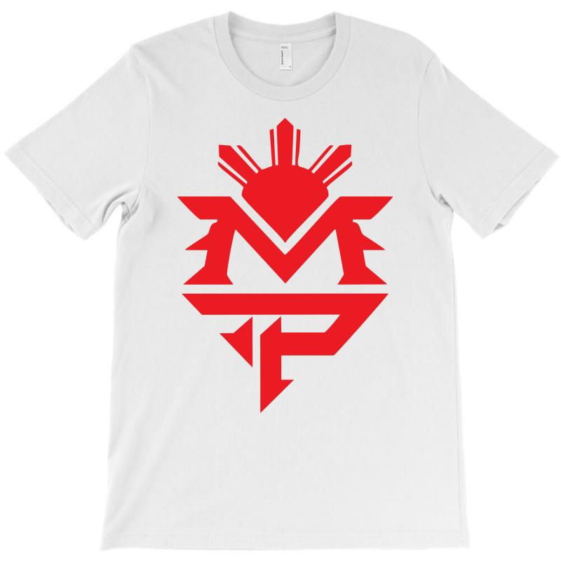 Manny Pacquiao Red Mp Logo Boxer Sports T-shirt | Artistshot