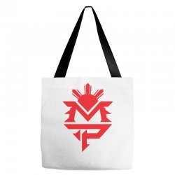 manny pacquiao red mp logo boxer sports Tote Bags | Artistshot