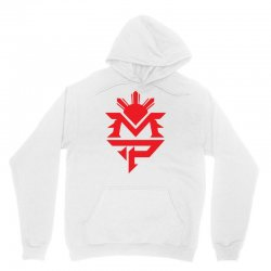 manny pacquiao red mp logo boxer sports Unisex Hoodie | Artistshot