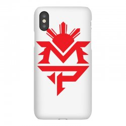 manny pacquiao red mp logo boxer sports iPhoneX Case | Artistshot