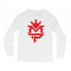manny pacquiao red mp logo boxer sports Long Sleeve Shirts | Artistshot