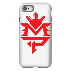 manny pacquiao red mp logo boxer sports iPhone 8 Case | Artistshot