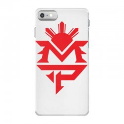 manny pacquiao red mp logo boxer sports iPhone 7 Case | Artistshot