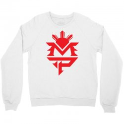 manny pacquiao red mp logo boxer sports Crewneck Sweatshirt | Artistshot