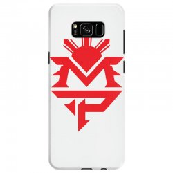 manny pacquiao red mp logo boxer sports Samsung Galaxy S8 Case | Artistshot