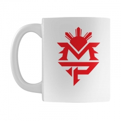 manny pacquiao red mp logo boxer sports Mug | Artistshot