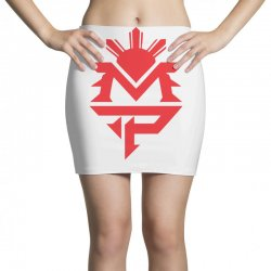 manny pacquiao red mp logo boxer sports Mini Skirts | Artistshot