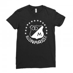 millonarios futbol Ladies Fitted T-Shirt | Artistshot
