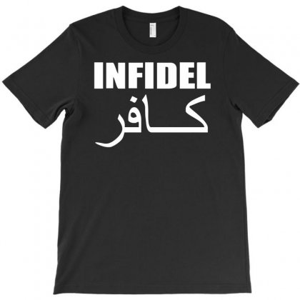 Military Army Infidel T-shirt Designed By Hezz Art