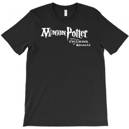 Minion Potter And The Chamber Of Bananas T-shirt Designed By Hezz Art