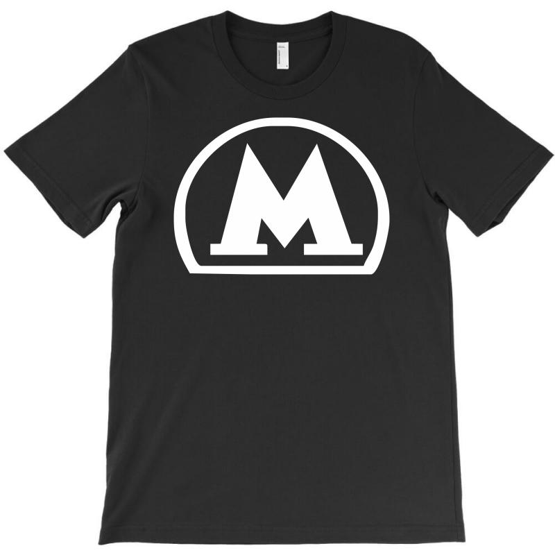 Moscow Metro Subway Underground Masse Transit Russisch T-shirt Punctual Timing Clothing, Shoes & Accessories