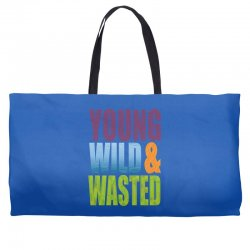 young wild wasted Weekender Totes | Artistshot