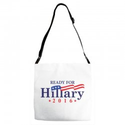 Ready For Hillary 2016 Adjustable Strap Totes | Artistshot