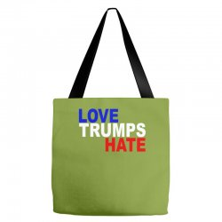 love trumps hate vote for hillary Tote Bags | Artistshot