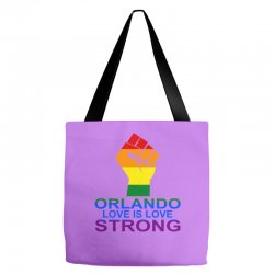 Love Is Love, Orlando Strong Tote Bags | Artistshot