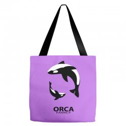 ORCA FAMILY Tote Bags | Artistshot