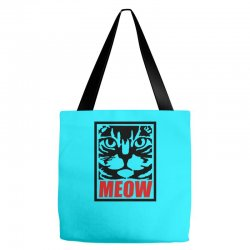 funny cat meow Tote Bags | Artistshot