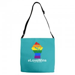 Love Wins 12th 2016 - Orlando Strong Adjustable Strap Totes | Artistshot