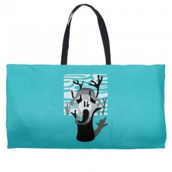 the tree's scream Weekender Totes | Artistshot