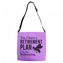 Yes I have a Retirement Plan Adjustable Strap Totes | Artistshot