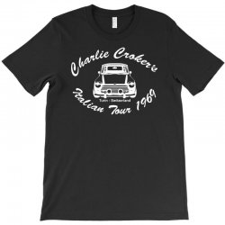 movie t shirt inspired by the classic italian job   the italian job T-Shirt   Artistshot
