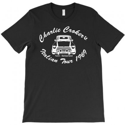 Movie T Shirt Inspired By The Classic Italian Job   The Italian Job T-shirt Designed By Hezz Art