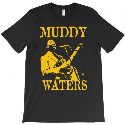 Muddy Waters T-shirt Designed By Hezz Art