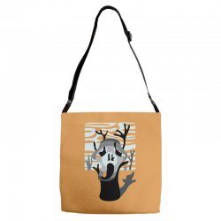 the tree's scream Adjustable Strap Totes | Artistshot