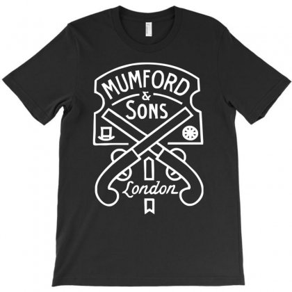 Mumford & Sons Pistols T-shirt Designed By Hezz Art