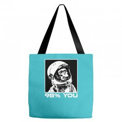 funny monkey astronomy Tote Bags | Artistshot