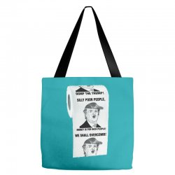 funny donald trump toilet paper Tote Bags | Artistshot