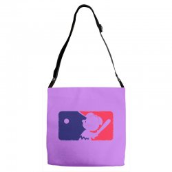 Peanuts League Baseball Adjustable Strap Totes | Artistshot