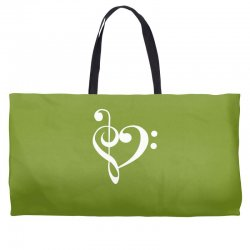 music heart rock baseball Weekender Totes | Artistshot
