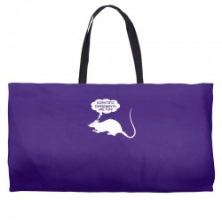 rat funny geek nerd scientific experiments are fun Weekender Totes | Artistshot