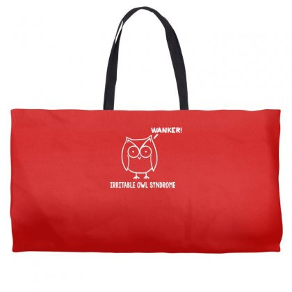 Irritable Owl Syndrome Weekender Totes Designed By Gematees