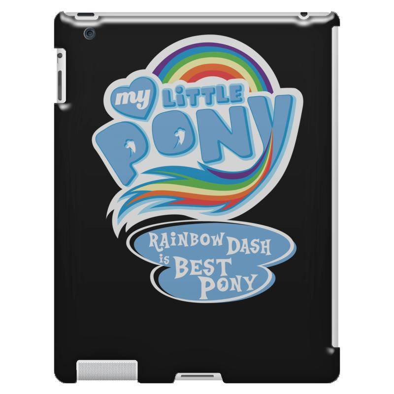 1f4471ba7ea Custom My Little Pony Logo Ipad 3 And 4 Case By Hezz Art - Artistshot