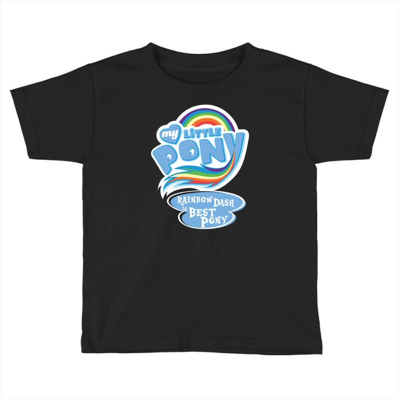 984500a52b7 Custom My Little Pony Logo Toddler T-shirt By Hezz Art - Artistshot