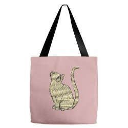 cats text Tote Bags | Artistshot