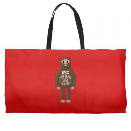 Dads Like Mums But Hairier Weekender Totes Designed By Gematees