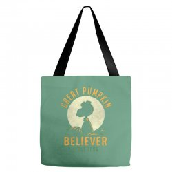 Great Pumpkin Believer Tote Bags | Artistshot