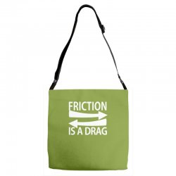 funny geek nerd science Adjustable Strap Totes | Artistshot
