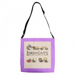Lord Of The Cats Adjustable Strap Totes | Artistshot