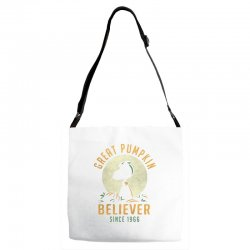 Great Pumpkin Believer Adjustable Strap Totes | Artistshot