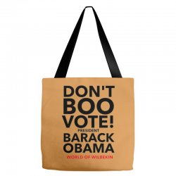Don't Boo Vote Tote Bags | Artistshot