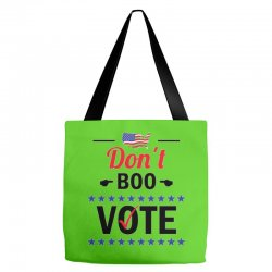Don't Boo Vote 01 Tote Bags | Artistshot