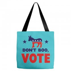 Don't Boo Vote 02 Tote Bags | Artistshot