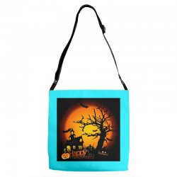 Happy Halloween Adjustable Strap Totes | Artistshot