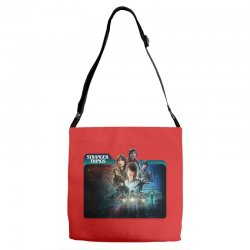 stranger things 01 Adjustable Strap Totes | Artistshot