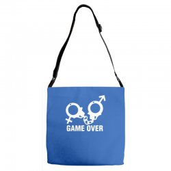 love game Adjustable Strap Totes | Artistshot
